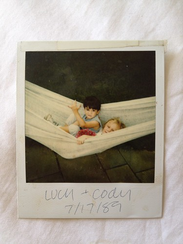 Lucy and Cody, 7/17/89 | by lucy lou