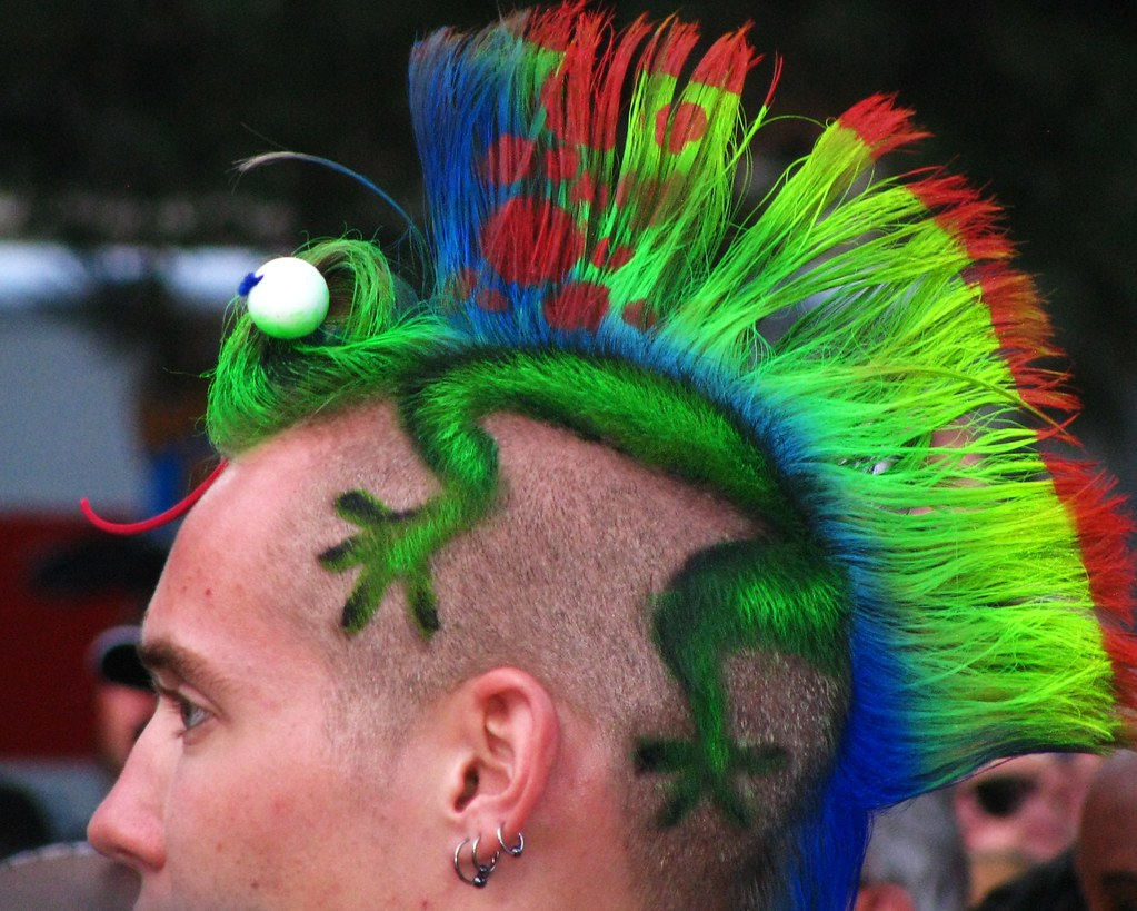 A different kind of Hairstyle | Gary | Flickr