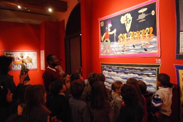 Ocean noir: immagini di una visita guidata alla mostra