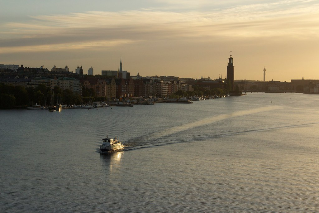 Water view of Stockholm