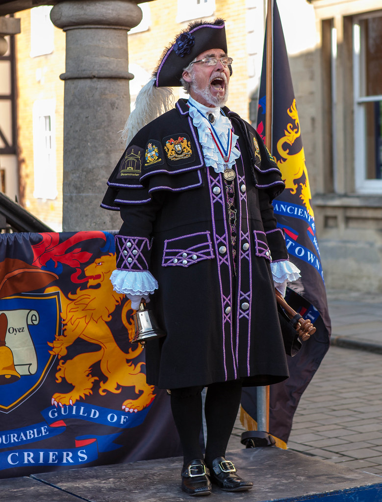 Town Criers In Royal Wootton A Contest For Tow Flickr