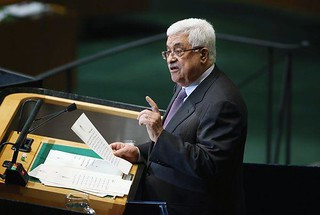 Palestinian Authority President Mahmoud Abbas addressing the United Nations General Assembly on September 27, 2012. Abbas says he is seeking recognition by the world body of Palestine as a nonmember state. | by Pan-African News Wire File Photos
