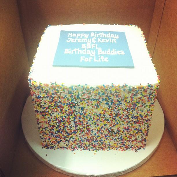 Sprinkle Birthday Cake Austin Customcake