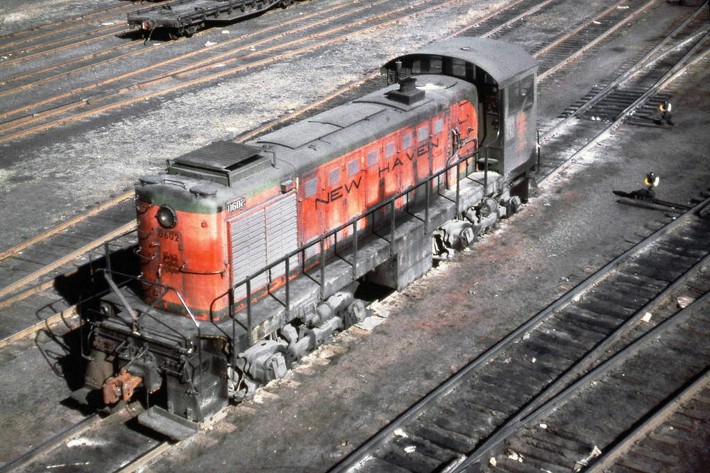 new haven railroad dey 5 alco s 2 switcher 0602 is seen flickr. Black Bedroom Furniture Sets. Home Design Ideas
