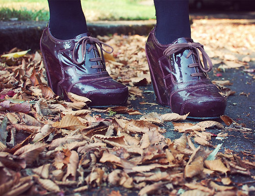 What I Wore: 10.1.12 // Hello, Fall | by Shauna Haider