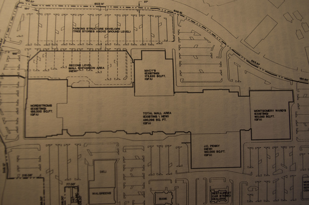 Oakridge Mall Expansion 1991 Before Westfield came