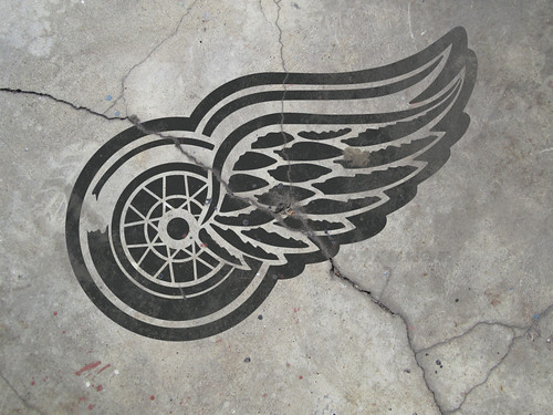 Vintage Detroit Red Wings Wallpaper 01 | by hieblinger