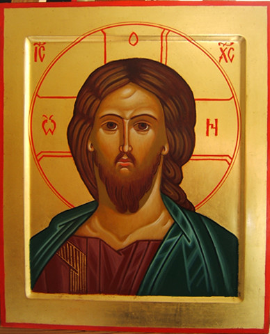2012 Icône du Christ Sauveur / Christ the Savior Icon (main de / hand of Julia Jabre) | by Périchorèse-iconographie