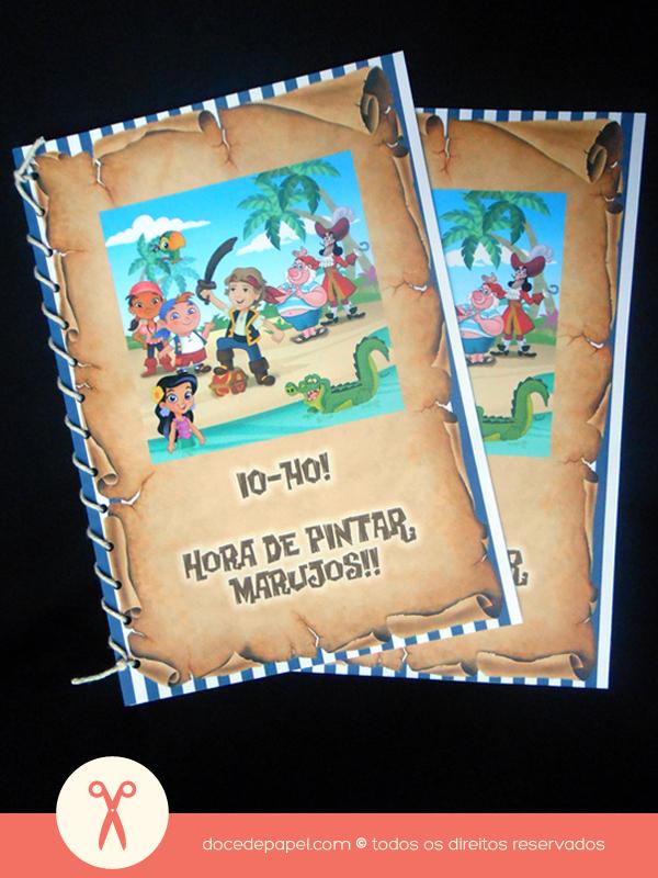 Jake E Os Piratas Da Terra Do Nunca Livrinho De Colorir Co Flickr