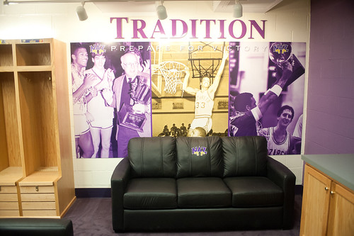 Extreme Makeover: Golden Flyers Locker Room Edition | by NazarethCollege