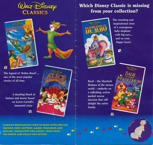 Closing to Disney's SingAlong Songs: Circle of Life UK VHS [1995 ...