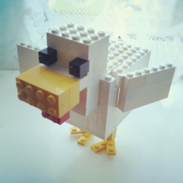 lego # minecraft # chicken # moc 1
