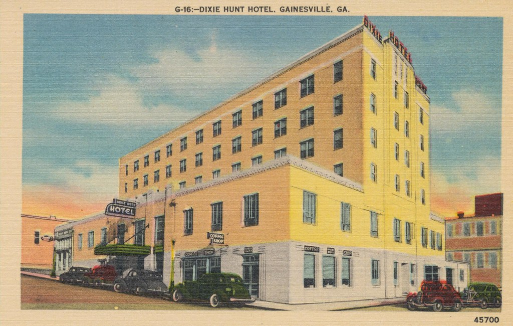 Dixie Hunt Hotel - Gainesville, Georgia