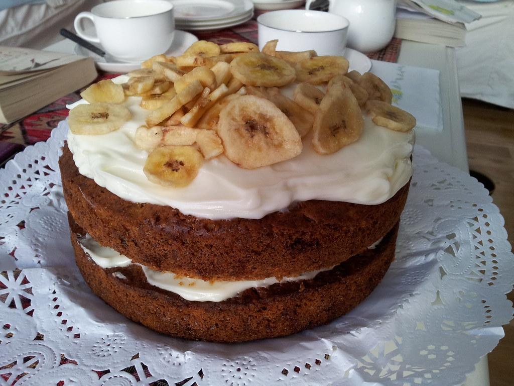 Banana And Pineapple Cake