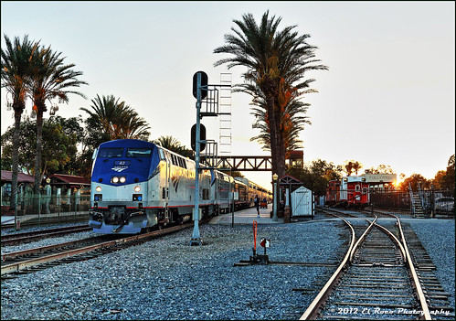 The Southwest Chief at Sunset | by El Roco Photography