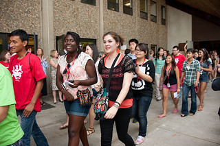 The Faculty and Staff Welcome for new students | by clark.university
