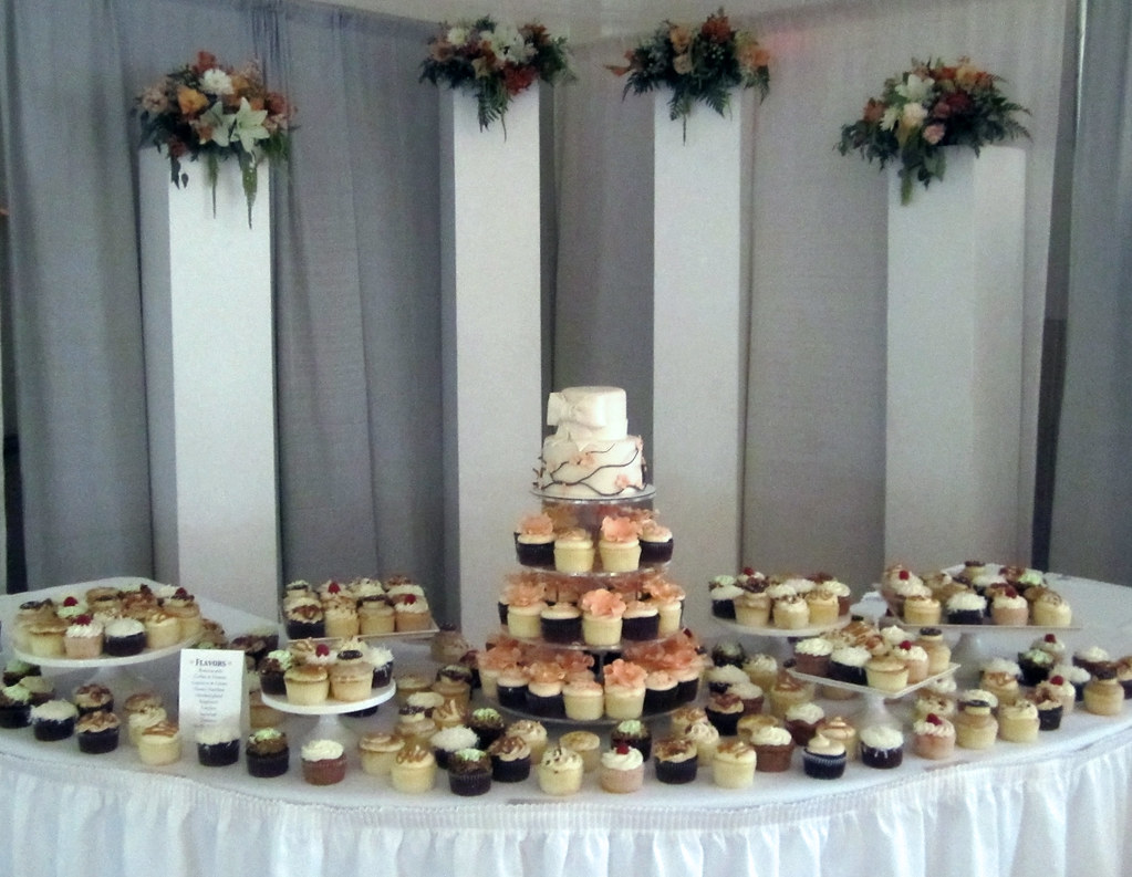 Cupcake Wedding Cake Los Angeles