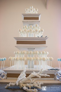 Hamptons Beach Cake Pop Display | by Sweet Lauren Cakes