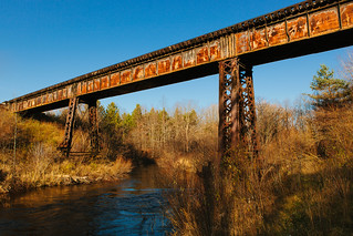 Pere Marquette RR Trestle | by Marty Hogan