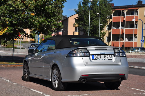 Saab 9-3 convertible | by saabrobz