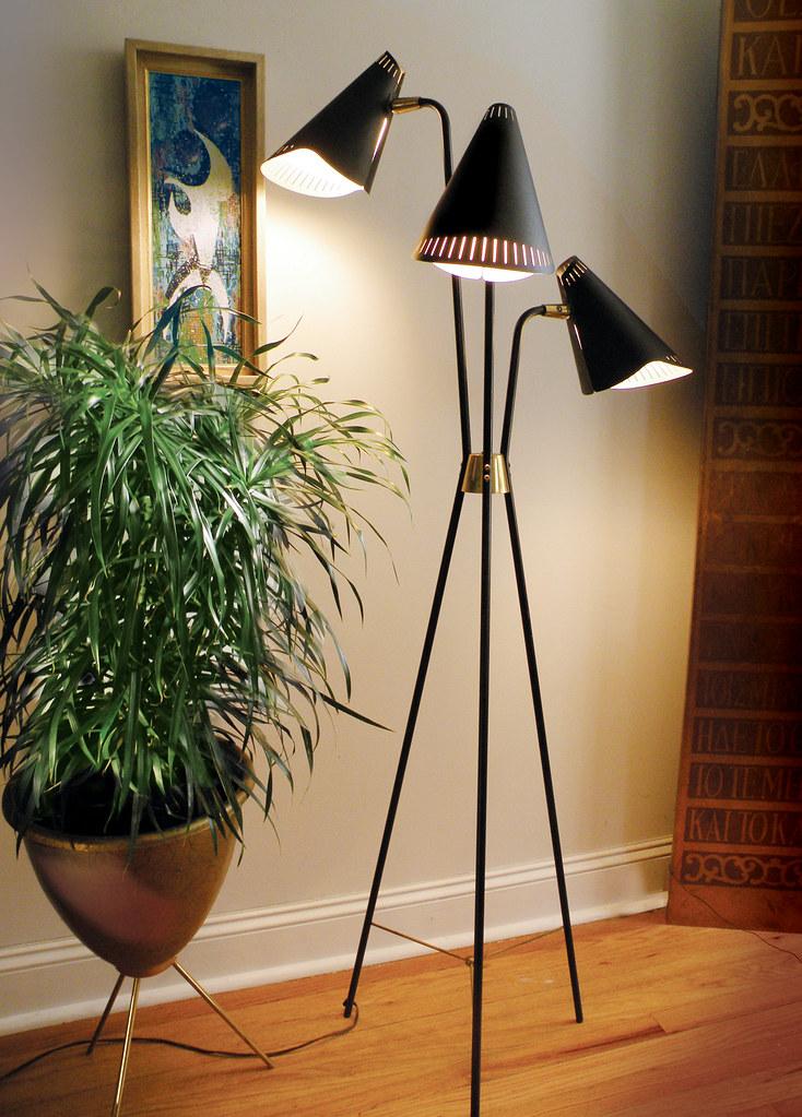 1955 Gerald Thurston Lightolier Floor Lamp I Ve Only