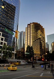 Downtown Vancouver, Burrard Street | by blacky_hs
