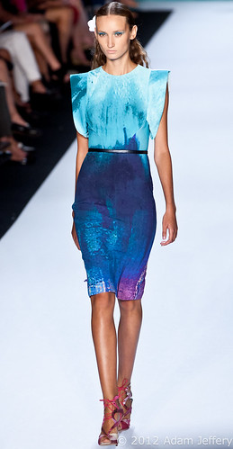 Monique Lhuillier - MBFW Spring 2013 | by adamjefferyphotography