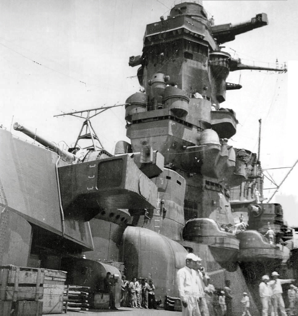 Superstructure: Forward Superstructure And Bridge Of Battleship Musashi