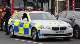 Hampshire Police Brand New BMW 530D On Scene Of 5 Pump Fire | by EmergencyVehiclePics