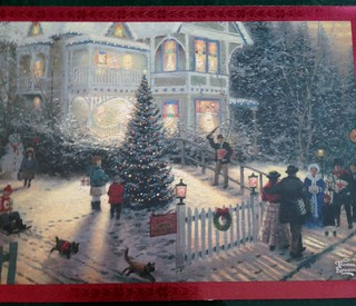 Thomas Kinkade Christmas | by Mailbox Happiness-Angee at Postcrossing