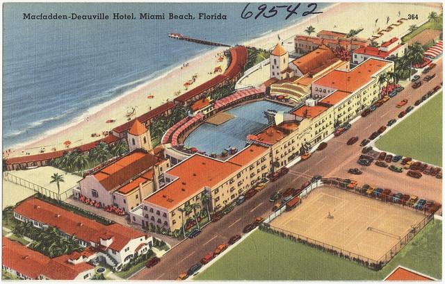 Hotel Deauville Miami Beach
