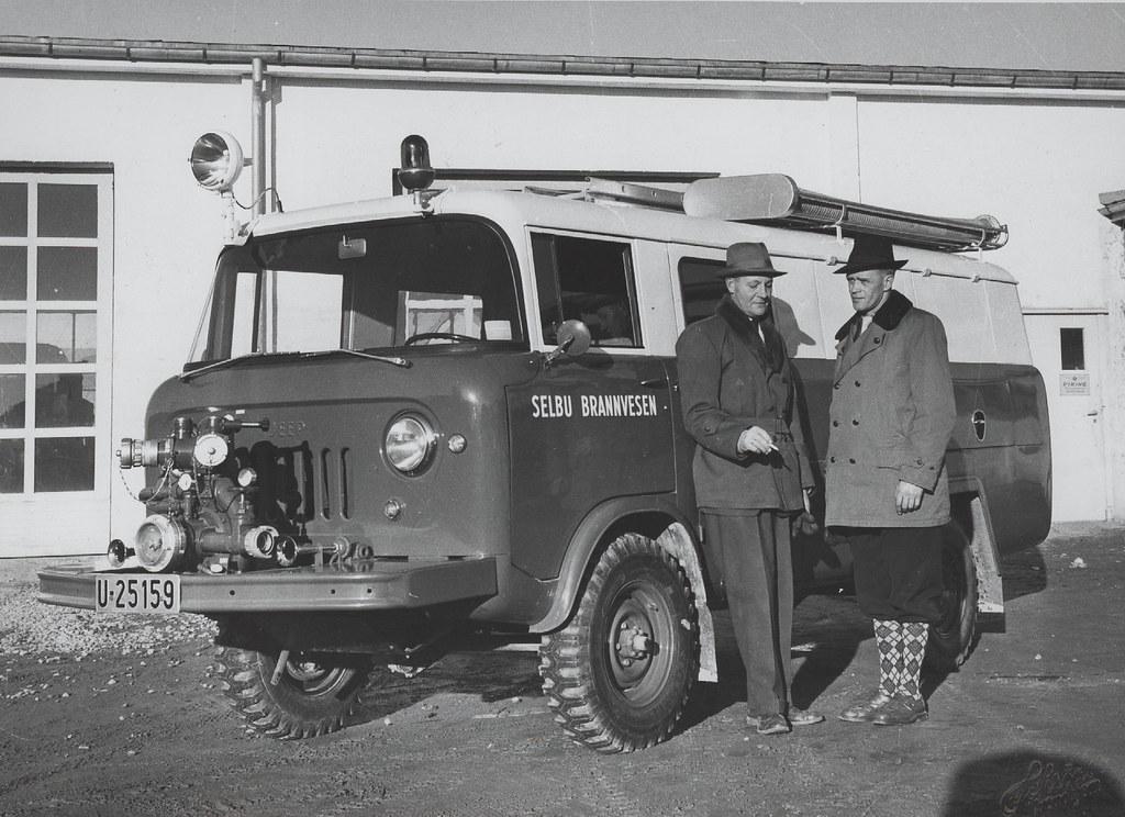 Selbu brannvesen (ca. 1961) | Format: Fotopositiv Dato ...