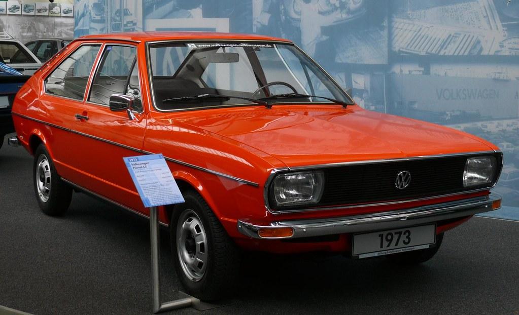 VW Volkswagen Passat LS orange 1973 Fahrgestell Nummer 2 v… | Flickr