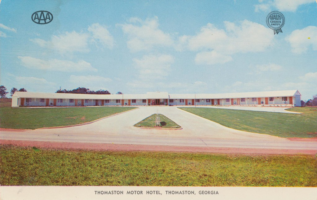 Thomaston Motor Hotel - Thomaston, Georgia