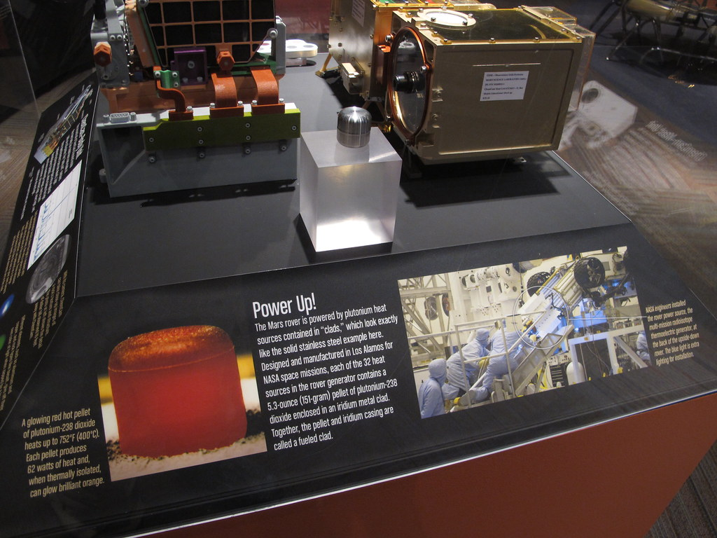 mars rover atomic battery - photo #42