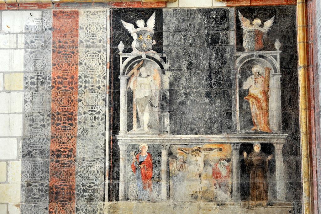 Peinture murale de la Chapelle du Château dAngers  Flickr