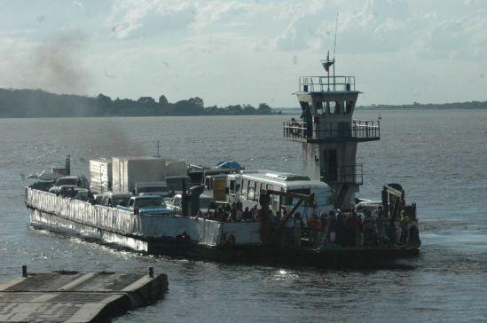 Ferrys y chalanas del centro de San Félix de paro para exigir aumento del pasaje