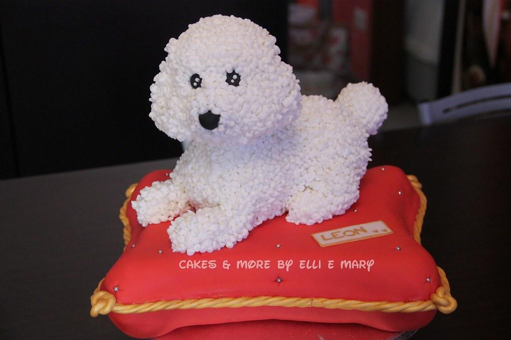 White Poodle Cakes
