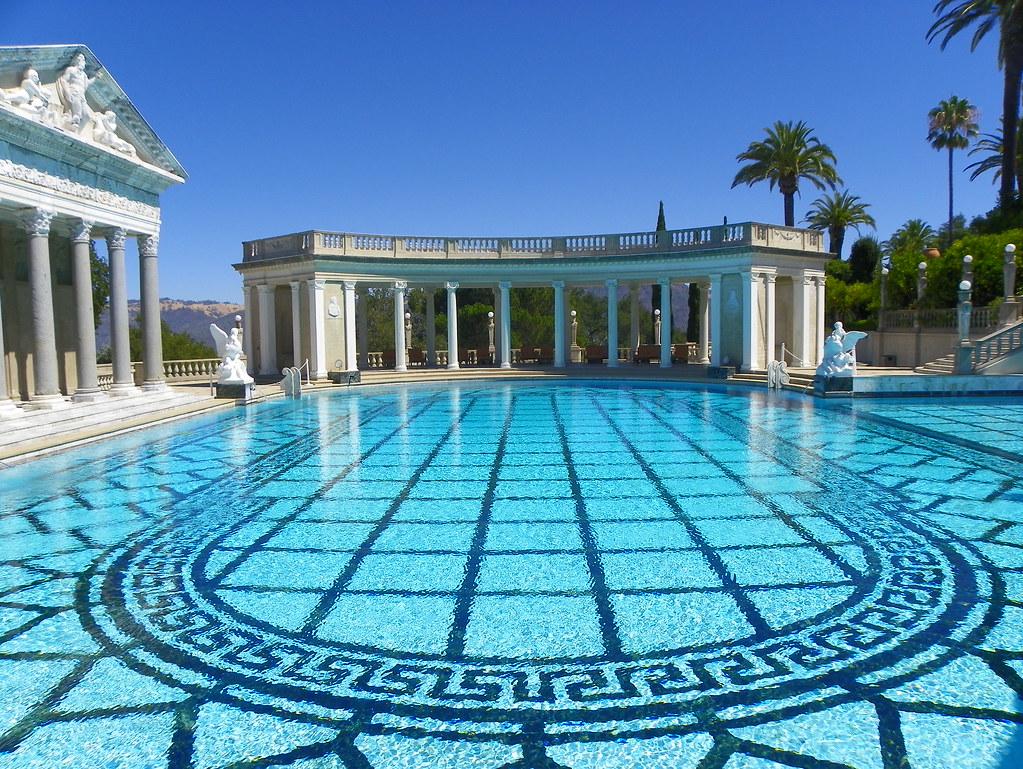 Swimming Pool Hearst Castle San Simeon San Luis Obispo C Flickr