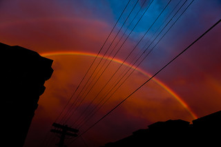 Double Rainbow in San Francisco | by Albert K Law : www.porkbellystudio.com