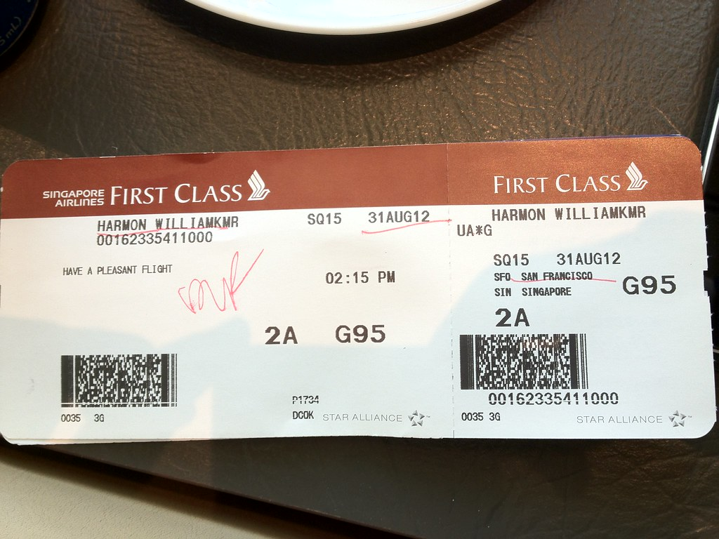 Sq First Class Boarding Pass Kyle Harmon Flickr