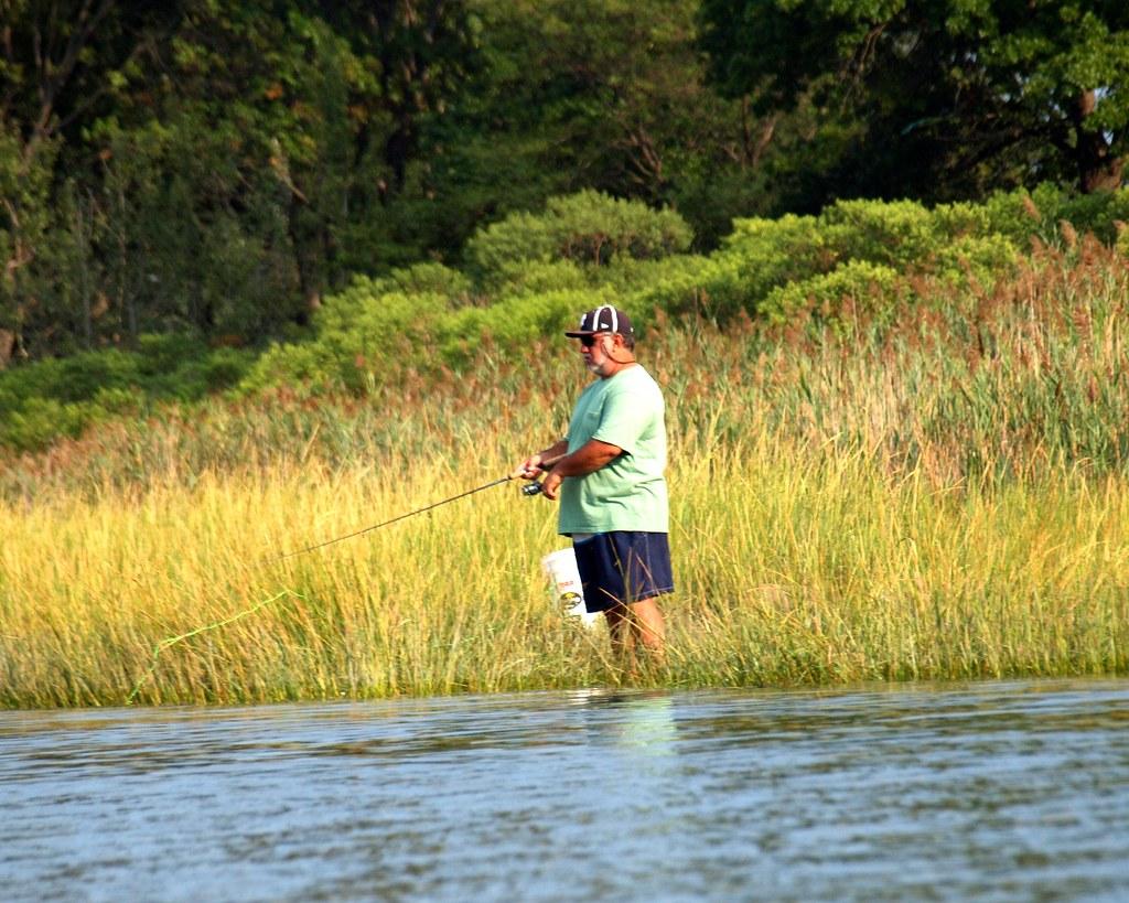 Fishing in pelham bay lagoon bronx new york city flickr for Fishing in new york