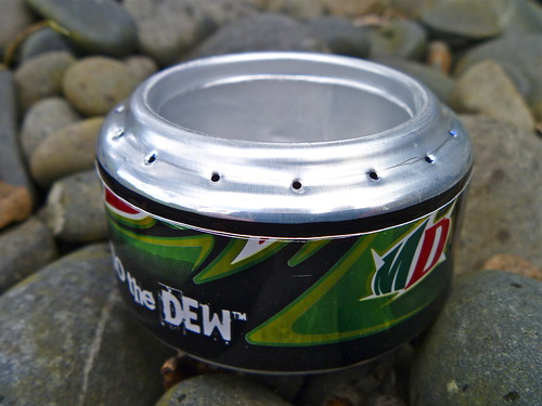 My first Soda Can Stove (Pepsi Stove / Penny Stove) | by ibikenz