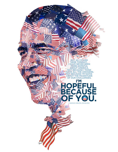 Barack Obama: Hopeful because of you | by tsevis