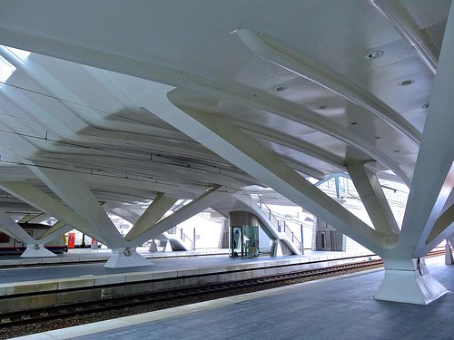 Liège-Guillemins train station, Belgium | by Ken Lee 2010