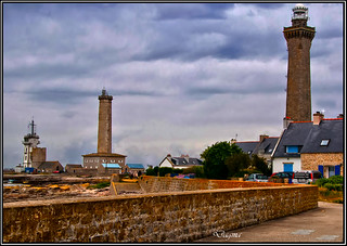 The lighthouse of Eckmühl in Penmarch ..Bretagne..France | by dagmaf