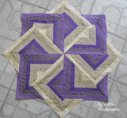 Quilt Patterns Strata Star : W.I.P./Fan Dance, Strata Quilt, Log Cabin Dance Trabalho a? Flickr