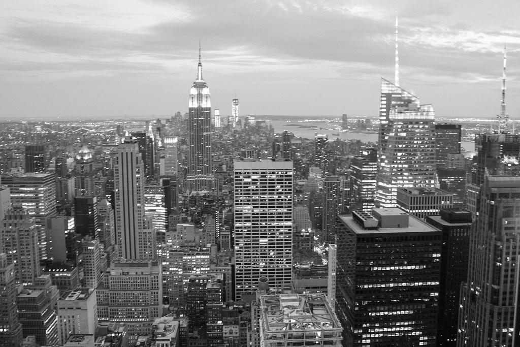 new york skyline view - photo #27