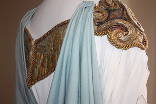 Detail of costume worn by Maria Callas as Norma, 1952 © 2012, Royal Opera House/Royal Opera House Collections | by Royal Opera House Covent Garden