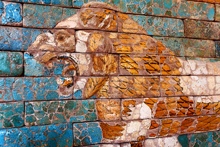 Ishtar Lion detail | by dmmaus